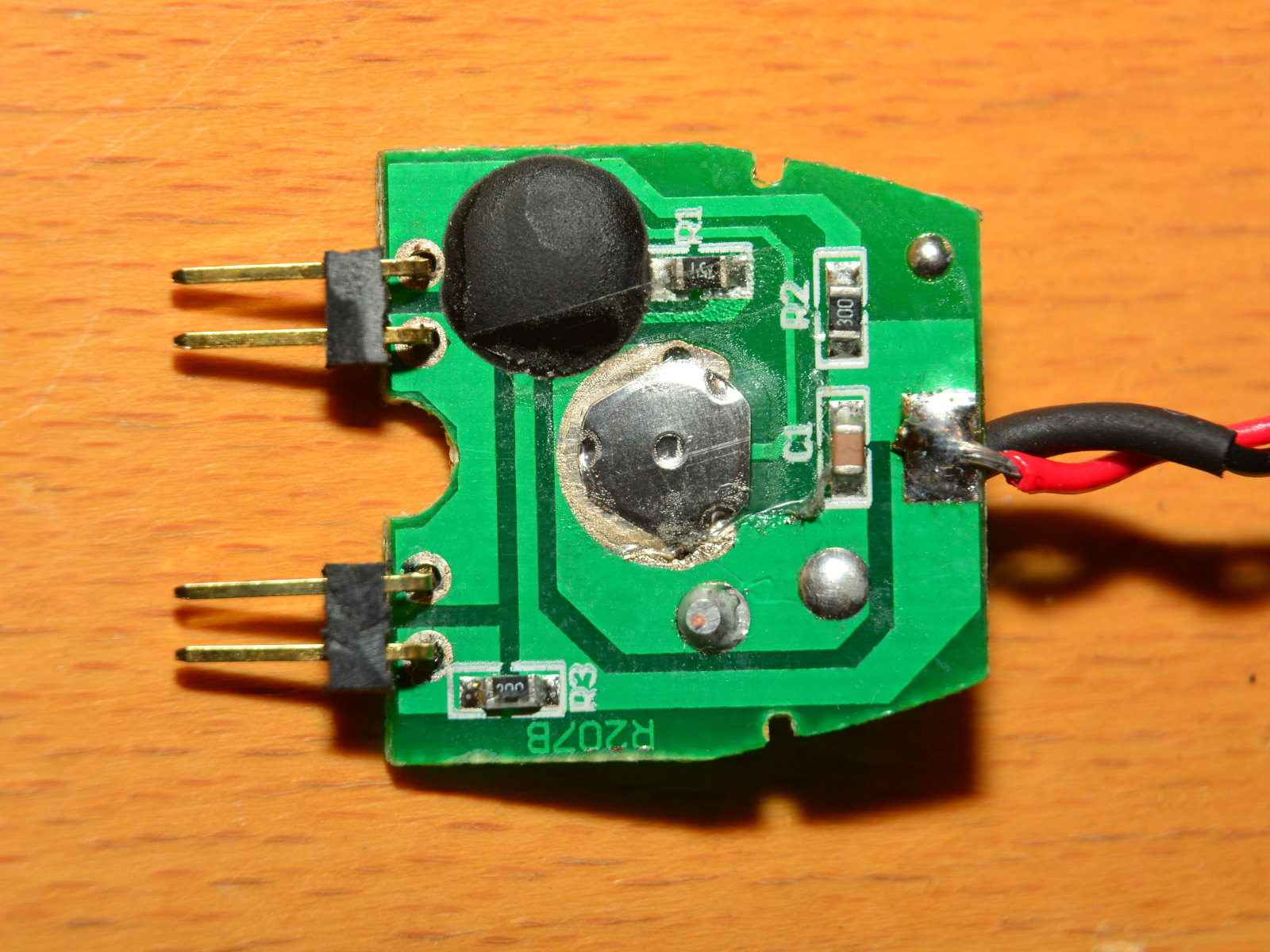 F550 Build Navigation Lights Led Strobe Light Effect Generator Circuit Electronic So What I Did Was To Get A Sheap Flashing Bicycle And Strip It Of Its Plastic Shell This Is Found Inside Very Neat