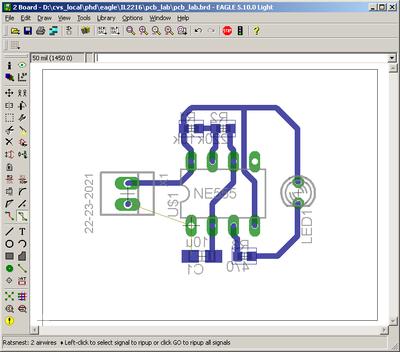 IL2216 Printer Circuit Board lab